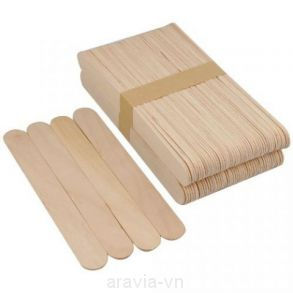 Шпатель деревянный, (уп 100 шт.)