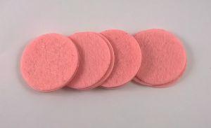 Фетровый пяточек 30мм, 1уп = 200шт, цвет: светло-розовый