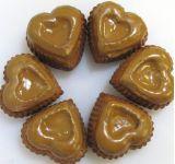 Формочки силиконовые сердечки 8 шт 891-099