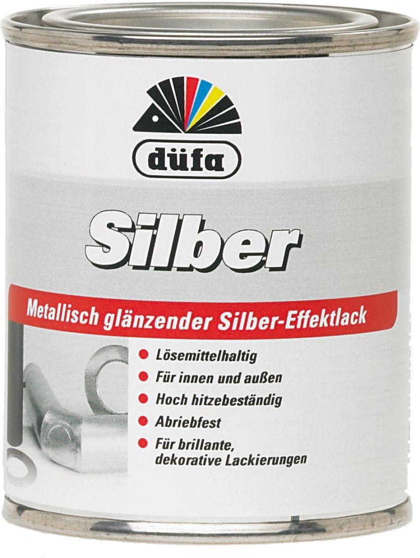 """""""Dufa"""" Silber Extra Эмаль жаростойкая серебристая для декоративных покрытий"""