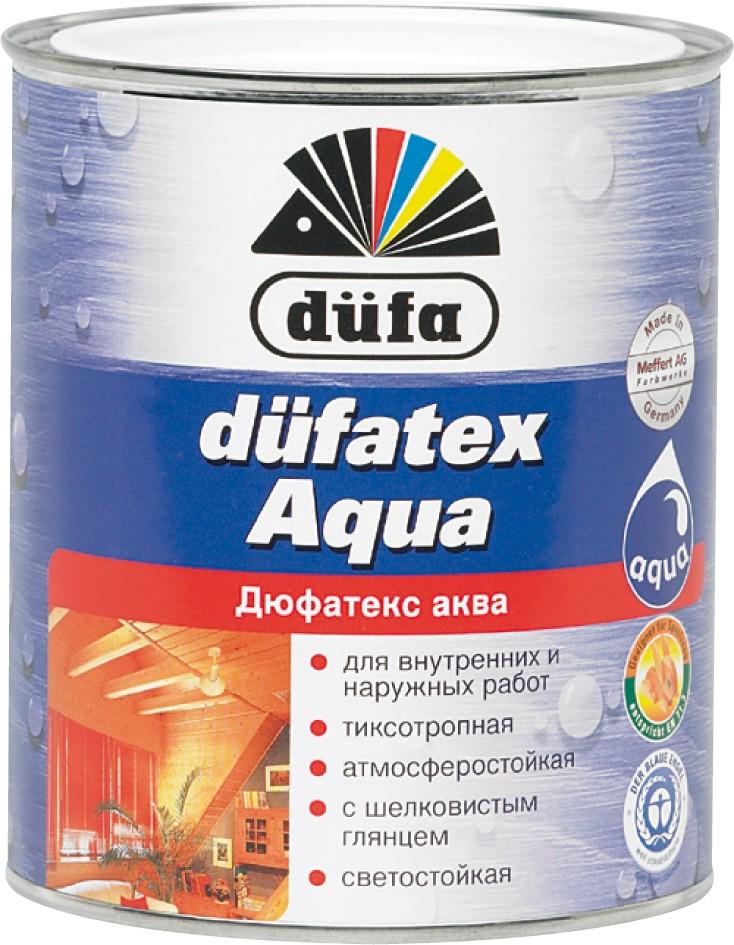 """Dufa"" Düfatex-Aqua Экологическая пропитка для дерева на водной основе"