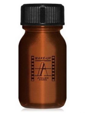 Make-Up Atelier Paris Aquacream AQBR Brown Акварель жидкая кремовая коричневая