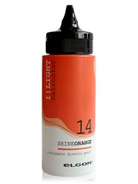 Elgon I LIGHT Краска прямого действия 14 сияющий оранжевый