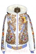 Куртка в русском стиле женская