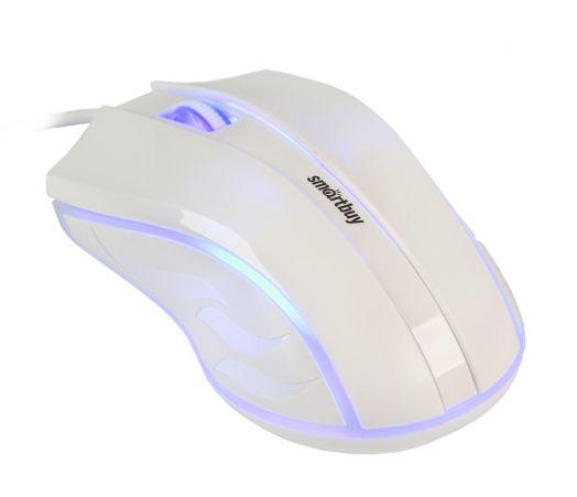 Мышь проводная Smartbuy ONE 338 белая