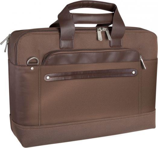"""Сумка для ноутбука Defender Gala 17"""" коричневый, органайзер"""