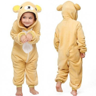 Пижама Кигуруми Детская Медведь Рилаккума_01