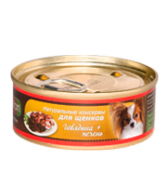 Porcelan Говядина с печенью для щенков всех пород (100 гр)