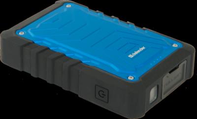 Внешний аккумулятор ExtraLife Discovery 10400 mAh, 2*USB, 5V/1A + 2,1A