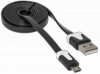 USB кабель USB08-03P USB2.0 AM-MicroBM, 1.0м пакет