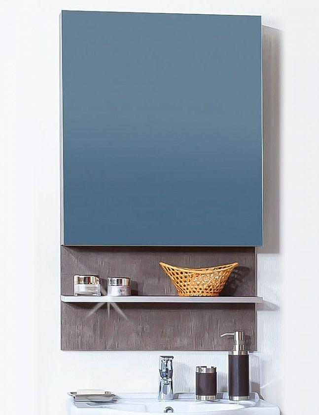 Зеркало-шкаф Бриклаер Карибы, с полочкой.