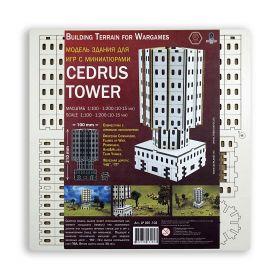 Cedrus Tower. Сборная модель здания.