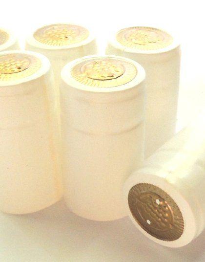 Термоусадочный колпачок молочно-белый 60х30 (10шт)