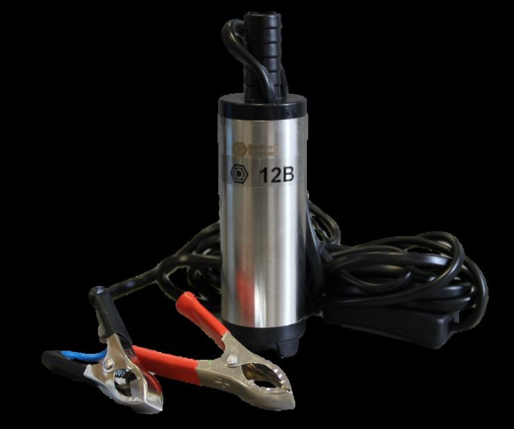 Насос перекачки топлива погружной 12V D38 20 л/мин