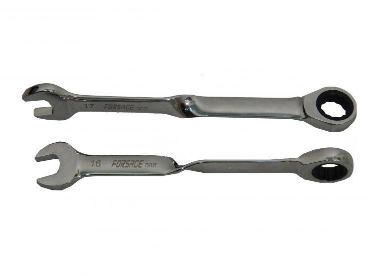 Ключ комбинированный трещоточный twist 24мм