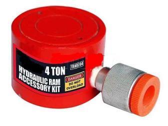 Гидроцилиндр на растяжку 4т, (h min 40мм, ход 18мм)