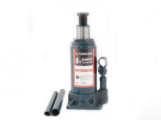 Домкрат бутылочный  8 т с клапаном (h min 210мм, h max 385мм)