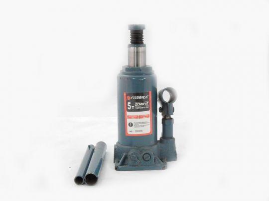 Домкрат бутылочный  5 т с клапаном (h min 216мм, h max 413мм)