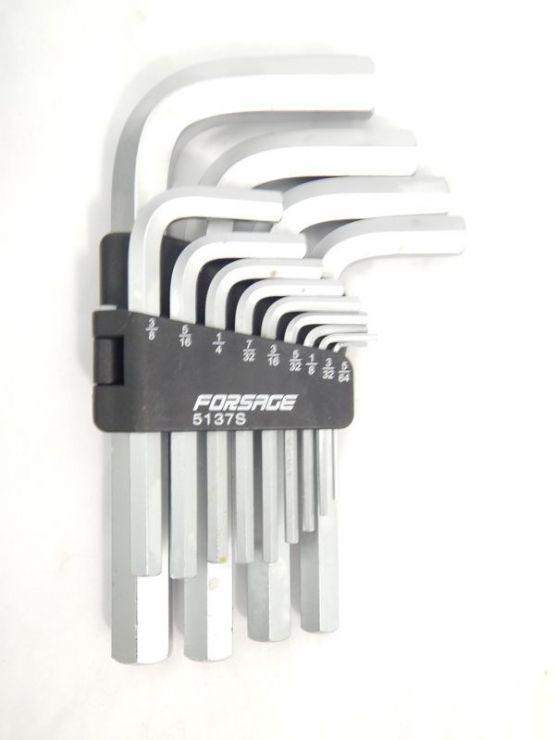 Набор ключей 6-гранных Г-образных 13пр. (1/16'-3/4')в пластиковом держателе