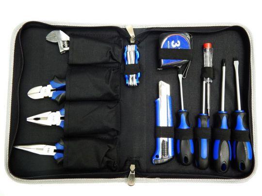 Набор инструмента 17пр.(шарнирно-губцевый+отвертки,рулетка) в сумке