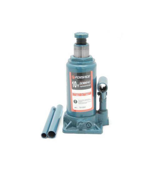Домкрат бутылочный 10т с клапаном (h min 230мм, h max 460мм)