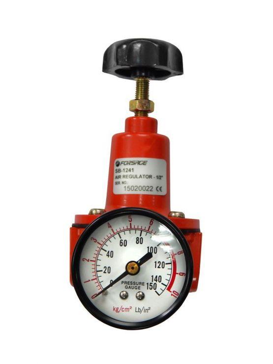 Регулятор давления с манометром для пневмосистем 1/4'