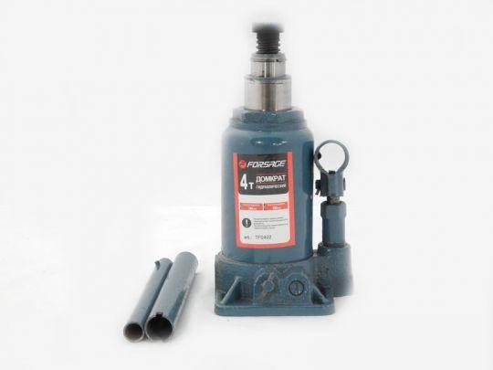 Домкрат бутылочный с двумя штоками,  4т (h min 160мм, h max 400мм)