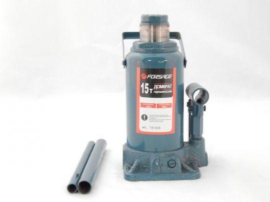 Домкрат бутылочный 15т с клапаном (h min 225мм, h max 425мм)