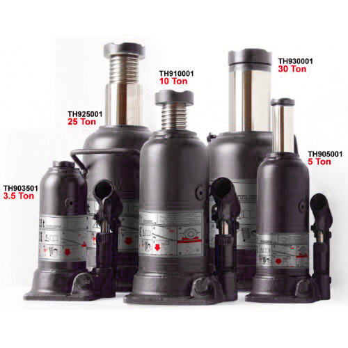 Домкрат бутылочный  5 т профи (h min 212мм, h max 468мм)