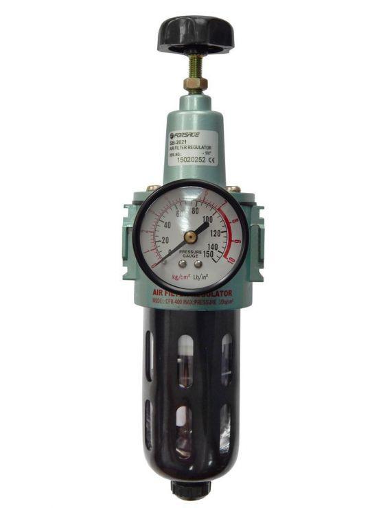 Фильтр тонкой очистки 5Мк с регулятором и манометром для  пневмосистем 1/2'