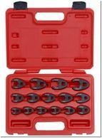 3/8' набор ключей разрезных съемных 15пр. (8-24мм)