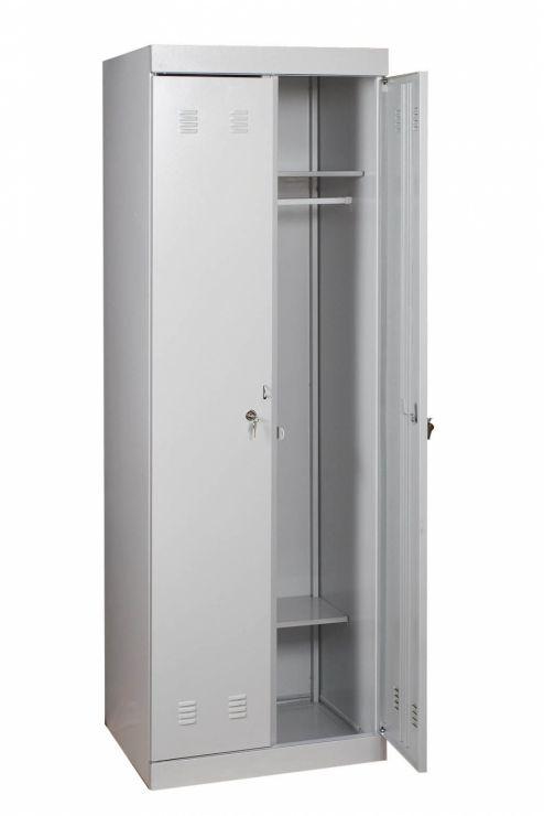Шкаф гардеробный ШМ-22/800 разборный Размеры: (ШхВхГ) 800х1800х500 мм