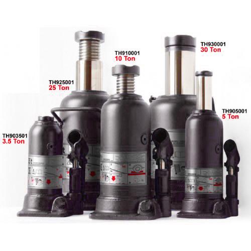 Домкрат бутылочный профи 30т (h min 244мм, h max 492мм)