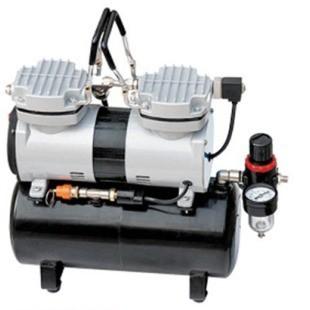 Миникомпрессор безмасляный (ресивер 3.5л, производительность  40л/мин, рабочее давление 3-4bar)