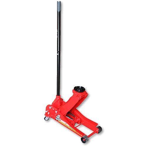 Домкрат подкатной гидравлический низкопрофильный г/п 3т. Высота: min 85 - max 455 мм.