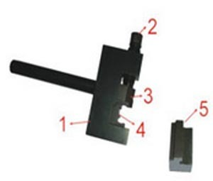 Приспособление для ремонта приводных цепей