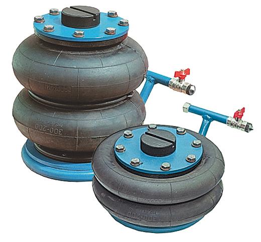 Домкрат пневматический 2,5т (140мм - 400мм)