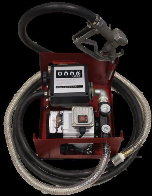 Станция перекачки топлива 220V 550Вт 60 Л/мин