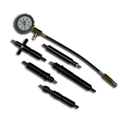 SMC-105/2 Компрессометр для дизельных  грузовых автомобилей Российского пр-ва  Укомплектован высокоточным манометром, диаметром 63 мм. Все переходники имеют клапана, для уменьшения погрешности производимых измерений. Внимание!! !По Вашему желанию возможна