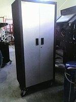 Шкаф 2-х секционный передвижной