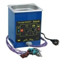 Ультразвуковая ванна для очистки форсунок инжекторных бензиновых двигателей с таймером и подогревом. Объем — 1,3л; количество одновременно промываемых форсунок — до 6шт; питание - 220В