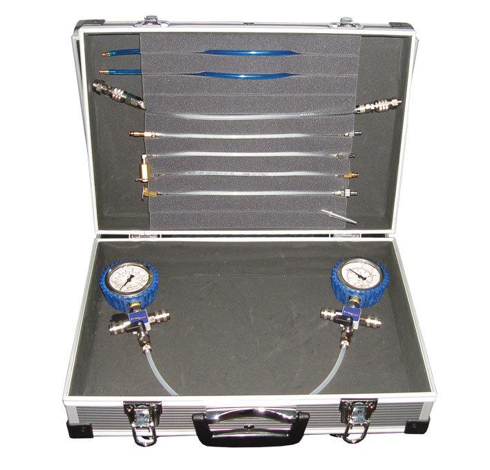 SMC-1005/2 - диагностический набор для контроля давления в обратной магистрали форсунок систем впрыска Common Rai
