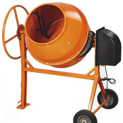 Бетономешалка электрическая (220В, 700Вт, объем барабана  170л)