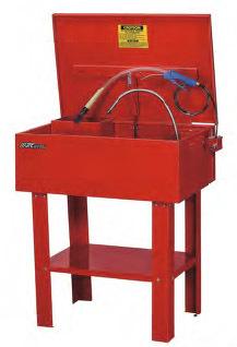 Установка для мойки деталей с принудительной подачей воды и воздуха, емкость камеры 12 галлонов (45л) JTC /1