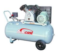 компрессор поршневой 360 л/мин, 10 бар, 2.2 кВт. 220 В, ресивер 100 л.