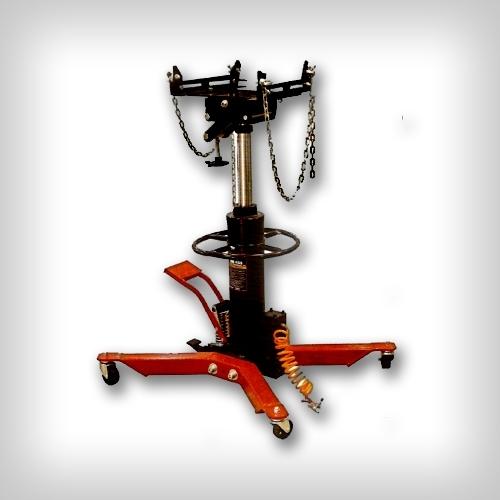 Стойка трансмиссионная пневмогидравлическая, 500кг двухштоковая с адаптером для крепления узлов а/м