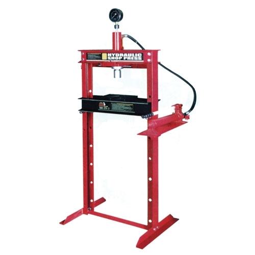 Пресс гидравлический 20т с манометром(ход поршня 185мм,диапазон работ 0-910мм)