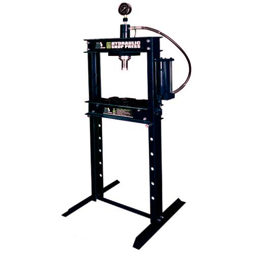 Пресс гидравлический 20т с манометром (ход поршня 185мм,диапазон работ 0-910мм)