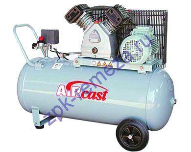 компрессор поршневой 500 л/мин, 9 бар, 3 кВт. 220 В, ресивер 100 л.