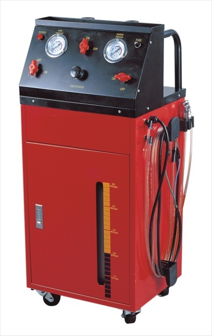 Электрическая установка для замены тормозной жидкости. Для дизельных и бензиновых двигателей. Рабочее давление: 80-120PSI.  Питание: 12В